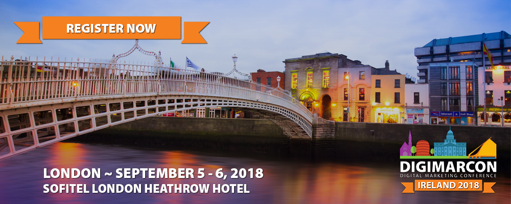 DigiMarCon Ireland 2018 Register