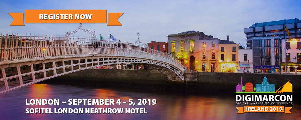 DigiMarCon Ireland 2019 Register
